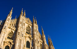 Milan Cathedral Dome Stock Images