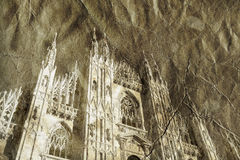 Milan Cathedral Dome Royalty Free Stock Photography