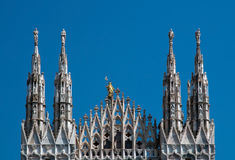 Milan Cathedral (Dome, Duomo) stock image