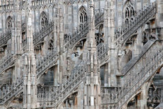 Milan Cathedral (Dome, Duomo) Stock Photography