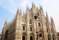 Milan Cathedral (Dome, Duomo). Milan Cathedral (Duomo di Milano) is the cathedral church of Milan in Lombardy, northern Italy. It is the seat of the Archbishop Royalty Free Stock Photo