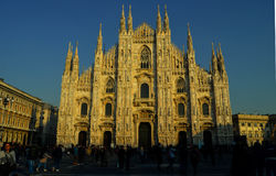 Milan Cathedral Dome, duomo Fotografie Stock