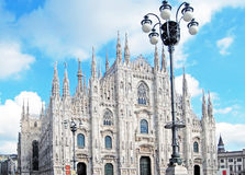 Milan Cathedral - Duomo Royalty Free Stock Photos