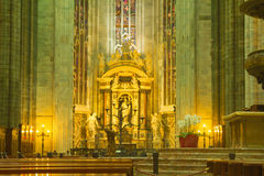 Milan Cathedral Duomo Stock Photo