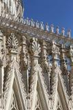 Milan Cathedral Duomo di Milano, église gothique, Milan, Italie images stock
