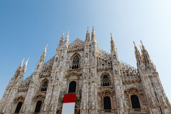 Milan Cathedral (Duomo di Milano) Stock Photo