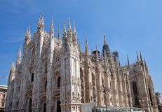 Milan Cathedral (Duomo di Milano) Royalty Free Stock Photography