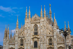 Milan Cathedral Duomo di Milano in Italy Stock Photos