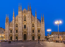 Milan Cathedral Duomo di Milano in Italy Stock Images