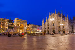Milan Cathedral & x28;Duomo di Milano& x29; in Italy Royalty Free Stock Image