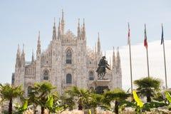 Milan Cathedral, Duomo di Milano. Milan. Italy Stock Photo