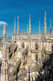 Milan Cathedral Duomo di Milano Royalty Free Stock Photography