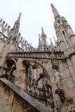 Milan Cathedral, Duomo di Milano, view. Famous Italian landmark Royalty Free Stock Photo