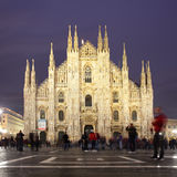 Milan Cathedral - Duomo di Milano Stock Photography