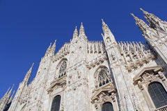Milan cathedral Duomo,Dome. Milan Cathedral (Duomo di Milano) is the cathedral church of Milan in Lombardy, northern Italy. It is the seat of the Archbishop of Stock Photo