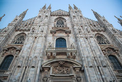 Milan Cathedral, Duomo. Italy Royalty Free Stock Photo