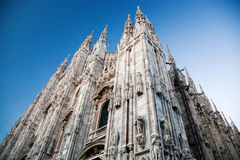 Milan Cathedral, Duomo. Italy Stock Photo