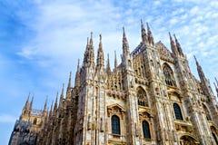 Milan Cathedral - Duomo Royalty Free Stock Photos