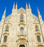 Milan Cathedral & x28;Duomo Milano& x29;. Italy. Famous Milan Cathedral & x28;Duomo Milano& x29;. Italy Royalty Free Stock Photography