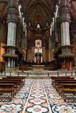 Milan Cathedral interior Stock Images