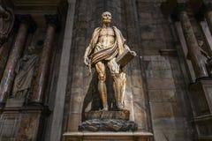 Milan Cathedral - Italia foto de archivo