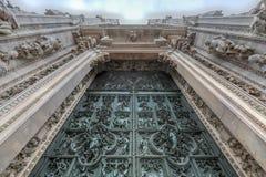 Milan Cathedral - Italien stockfoto