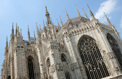 Milan Cathedral in Italy Stock Image