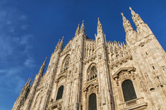 Milan Cathedral Royalty Free Stock Images