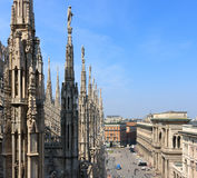 Milan Cathedral, Italy Stock Images