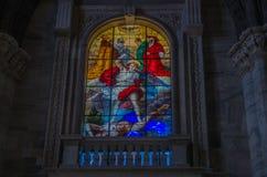 Milan Cathedral 6. Italy's Milan Cathedral internal and external Royalty Free Stock Photos