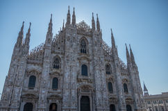 Milan Cathedral 1. Italy's Milan Cathedral internal and external Royalty Free Stock Images
