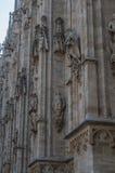 Milan Cathedral 13. Italy's Milan Cathedral internal and external Royalty Free Stock Photos