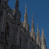 Milan Cathedral 16. Italy's Milan Cathedral internal and external Royalty Free Stock Photography