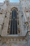 Milan Cathedral 14. Italy's Milan Cathedral internal and external Royalty Free Stock Images