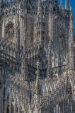 Milan Cathedral 17. Italy's Milan Cathedral internal and external Stock Photo