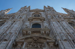 Milan Cathedral 19. Italy's Milan Cathedral internal and external Stock Images