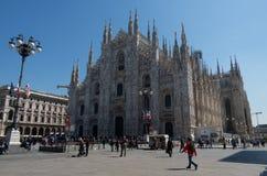 Milan Cathedral 21. Italy's Milan Cathedral internal and external Stock Photos