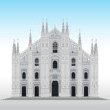 Milan cathedral, Italy Royalty Free Stock Images