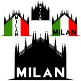Milan cathedral, Italy Royalty Free Stock Photos