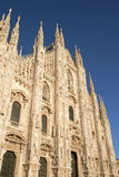 Milan Cathedral in the late afternoon Royalty Free Stock Image