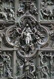 Milan Cathedral main door detail Royalty Free Stock Image