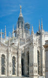 Milan Cathedral (1386-1965), Milaan, Italië Royalty-vrije Stock Foto