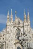 Milan cathedral Royalty Free Stock Image