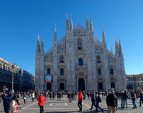 Milan Cathedral. Royalty Free Stock Photo