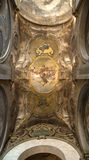 Milan Ceiling in Cathedral Royalty Free Stock Photos