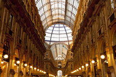 The Milan center gallery Stock Image