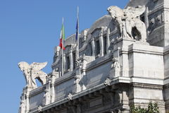 Milan central railstation Stock Photo