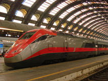 Milan Central railway station. (Italy Royalty Free Stock Photography