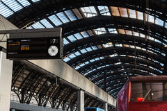 Milan Central Railway Station, Italy Royalty Free Stock Image