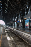 Milan Central Railway Station, Italy Royalty Free Stock Photo